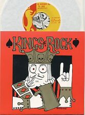 """KINGS OF ROCK I'd Rather Go To Jail - Ltd. ed. 1988 US 7"""" w/ insert, No. 300/600"""