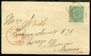 EDW1949SELL : GREAT BRITAIN Scarce usage of Sc #28, SG #72 from Meigle, Scotland