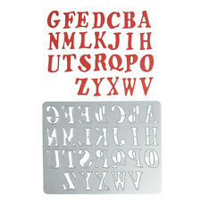 Alphabet Metal Cutting Dies Stencil DIY Scrapbook Emboss Album Paper Card Craft