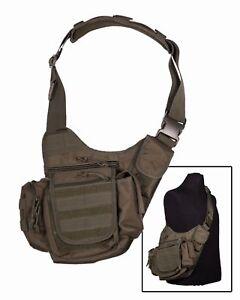 Sling Bag Multifunction Rucksack Umhängetasche Molle Outdoor Military Oliv