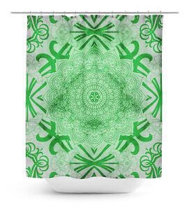 Floral Bathroom Curtain Waterproof Shower Drapes - FL-SCTD573A