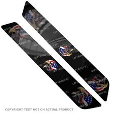Saddlebag Reflector Decals For 14 Up  Harley - USA FLAG EAGLE - 035