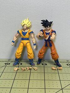 Bandai Dragon Ball Shodo Goku Loose 3.75 Inch Super Articulated Action Figures