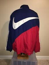 Vintage Nike 1990s Big Swoosh Windbreaker Jacket ~ Size XXL RARE American
