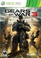 Brand New Gears of War 3  (Xbox 360, 2011) Standard Edition
