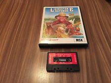 Livingstone tired Caja Great ** MSX Cassette **
