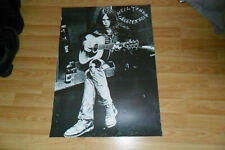 NEIL YOUNG - GREATEST HITS ORIGINAL PROMO POSTER FOLK PROG ROCK EX