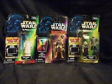 KENNER THE POWER OF THE FORCE STAR WARS FIGURE SET 3 LEIA, MON MOTHMA, UGNAUGHTS