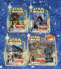 Star Wars Attack Of The Clones Lot of 4 Action Figures with Yoda MISP from 2002