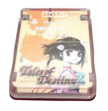 Tales of Destiny 2 Hori Magic Gate PS2 Memory Card PlayStation 2 8MB