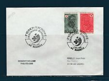 FRd  enveloppe croix rouge réunion Européenne jeunesse 64 Biarritz 1986