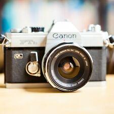 Canon FTb QL + Canon FL 28mm f/3.5 Grand Angle + Fltre Posso !! Super Offre !!