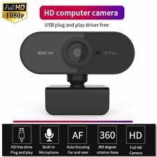 Full HD 1080P Webcam USB Computer Web Camera For PC Laptop Desktop W/ Microphone
