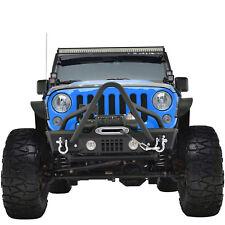 07-18 Jeep Wrangler JK Stinger Stubby Front Bumper W/OE Fog Lights Hole