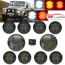 Smoke LED Driving Turn Signal Reverse Fog Tail Light Kit For Land Rover Defender