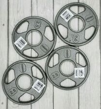 """Weider 2.5lb Olympic Hammertone Weight Plates Set of 4 - 10lbs Total - 2"""" Hole"""