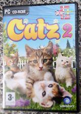 CATZ 2 PC CD-ROM CHILDRENS ANIMALS CATS GAME new & sealed ENGLISH/DAN/SWE/NOR