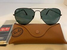 Ray-Ban Aviator Sunglasses RB3025 58mm 004/62 Gunmetal Frame with Grey Lenses