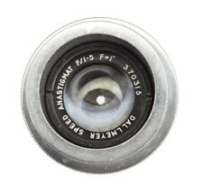 Dallmeyer 1in (25mm) f1.5 Speed Anastigmat C mount  #370315