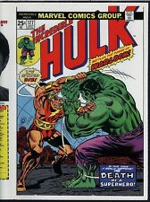 Incredible Hulk 177 COVER PROOF 1974 WARLOCK ART Trimpe Marvel Production Piece!