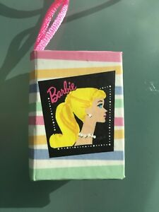 Vintage Barbie~ NEW Nostalgic Barbie MINI DIARY Notebook NECKLACE