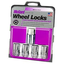 "McGard Locking Lug Nuts 1/2-20 Wheel Locks 3/4"" Hex Set of 4 & Key"