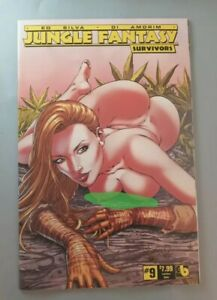 Jungle Fantasy Survivors #9 Rare HTF Nude cover Mature readers
