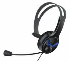 Official Ps4 Wired Chat Headset Overhead Design With Boom Microphone and Speaker