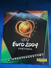 PORTUGAL EURO 2004 SOCCER CARDS STICKERS ALBUM COMPLETE LOOK SCANS