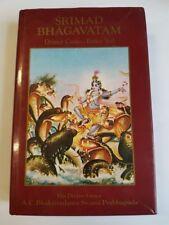 Srimad Bhagavatam Dritter Canto. Erster Teil - Kapitel 1-16. Gebundenes Buch -