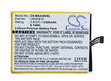 Replacement Battery For Micromax 3.8v 2300mAh / 8.74Wh Mobile, SmartPhone Batter
