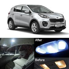 LED Interior Light Kit Xenon White Lamps For Kia Sportage QL 2016-2017 (7x)