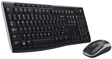 Logitech Wireless MK270 Mouse and keyboard Combo Standard 920-004536