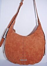 REACTION KENNETH COLE LAKOTA HOBO AMBER FRINGE CROSS-BODY HANDBAG.$ 99.00