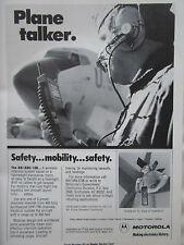 5/1981 PUB MOTOROLA COMMUNICATIONS AN/ARC-188 WIRELESS INTERCOM US AIR FORCE AD