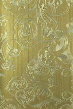 Tapete Harald Glööckler Deux Uni gold 54435 (5,80€/1qm)