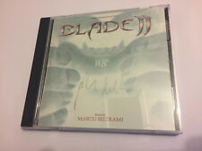 Signed! Autographed! BLADE II (Marco Beltrami) OOP Score Soundtrack OST CD NM