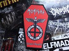 Midnight Coffin Patch Import Black Thrash Metal