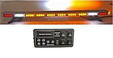 "49"" Amber LED Light Bar Tow Truck Roll Back Wrecker EMS w/ Brake & Cargo Lights"