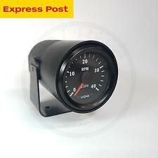 12V 52mm VDO VISION TACHO-METER 4000 RPM with POD HOLDER AUTOMOTIVE 333015037