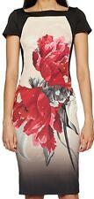 Coast Katsura Floral Print Mina Shift Dress size 16
