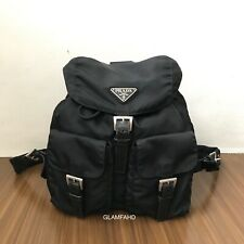 Pre Owned Authentic Prada Nylon Backpack