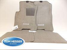 Genuine NISSAN ROGUE Grey FLOOR MAT Set 2009-2014 OEM 999E2-GX011