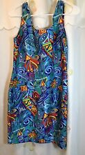 Apple Bottoms Graphic Print  Sleeveless Dress Size M