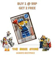 LEGO - #023 - PLUMBER - CREATE THE WORLD TRADING CARD - BESTPRICE + GIFT - NEW