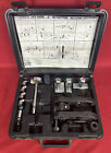 Porter Cable Model 511 Cylindrical Lock Boring Jig Kit W/ Case FREE SHIPPING