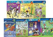 NEW  x 7 DR SEUSS EARLY READERS Dog show Christmas Doctor Hair CAT IN THE HAT