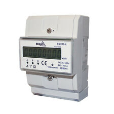 Unterstromzähler / Drehstromzähler Hutschiene 3x5(80)a Digital 3-phasen Bemko