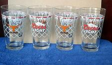 4 Coors Light Beer New 16 oz. Pint Glasses... Texas Longhorns Basketball ..