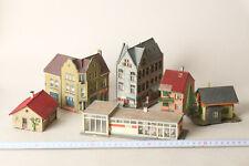 Faller Vollmer Kibri Spur H0  6 Gebäude u.a. Autowerkstatt, Stadthäuser (168037)